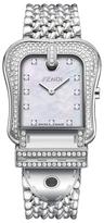 B. Fendi Stainless Steel & Diamond Timepiece, 33mm