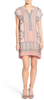 Nic+Zoe Prismatic Print Shift Dress