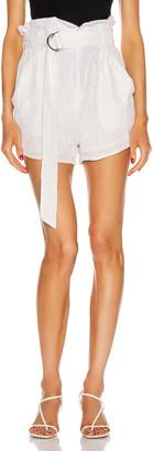IRO Inaro Shorts in White | FWRD