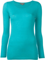 N.Peal cashmere superfine round neck jumper - women - Cashmere - XS
