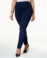 Style&Co. Style & Co Plus Size Tummy-Control Skinny Pants, Created for Macy's