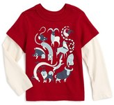 Tea Collection Zodiac Graphic T-Shirt (Baby Boys)