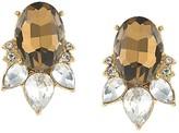 Carolee Stone Stud Earrings