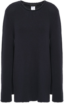 The Row Ribbed Cotton-blend Sweater