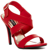 Elegant Footwear Tifany Crisscross Stiletto Sandal