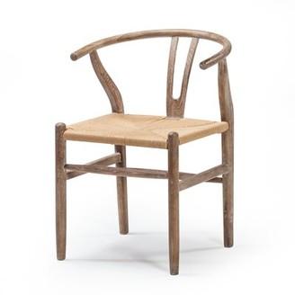 Gracie Oaks Gruenwald Solid Wood Dining Chair Gracie Oaks