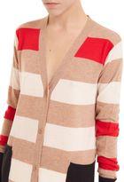 Max Mara Striped Mid Cardigan