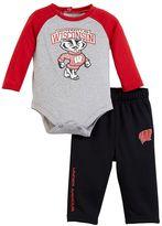 Under Armour Toddler Wisconsin Badgers Bodysuit & Pants Set