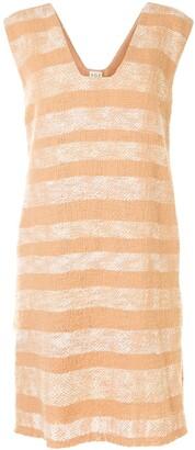 Voz Gradient Striped Dress