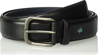 Original Penguin Men's 35mm Soft Touch Leather Belt