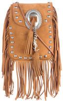 Saint Laurent Anita Fringe Crossbody Bag