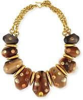 Ashley Pittman Lipua Mixed Horn Collar Necklace