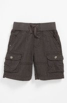 Pumpkin Patch Pinstripe Cargo Shorts (Toddler)