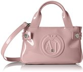 Armani Jeans Eco Patent Mini Tote Crossbody