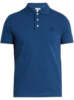 Loewe Logo-embroidered polo shirt