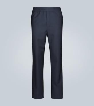 Acne Studios Pismo wool-blend drawstring pants