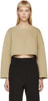 Yeezy Beige Cut-Off Pullover