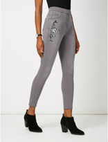 George Embroidered Jeggings