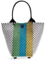 Truss Mini Sac Woven Handbag