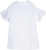 VICTORIA, VICTORIA BECKHAM Ruffle Flare Sleeve T-Shirt