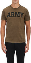 Nlst Men's Army Jersey T-Shirt-Dark Green Size S