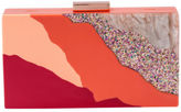 Olga Berg NEW OB8219 Ziggy Evening Clutch Orange