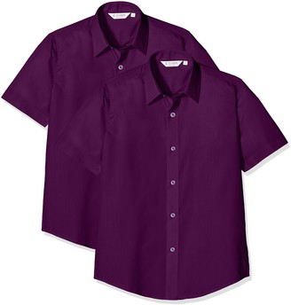 Clive James Clynick Trutex Boy's Scs Contemp Shirt 2er pack