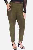 Fashion to Figure Orelle Faux Suede Pants