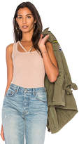 Michael Lauren Royce Cut Out Tank in Mauve. - size L (also in M,S,XS)
