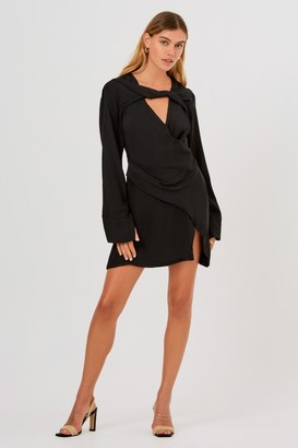 Finders Keepers LYDIA MINI DRESS Black