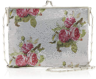 Paco Rabanne Pixel 69 Floral-Print Chainmail Bag