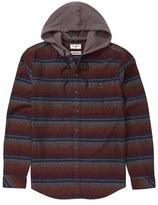 Billabong Toddler Boy's Baja Hooded Flannel Shirt