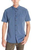 Billabong Men's New Order X Short Sleeve Woven Shirt