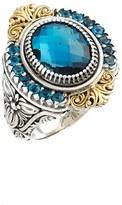 Konstantino Women's 'Thalassa' Topaz Ring