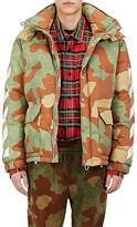 Off-White Men's Camouflage Down Jacket