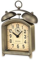 Bulova Holgate Table Clock in Antique Bronze