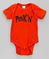 Micro Me Orange 'Punk'n' Bodysuit - Infant