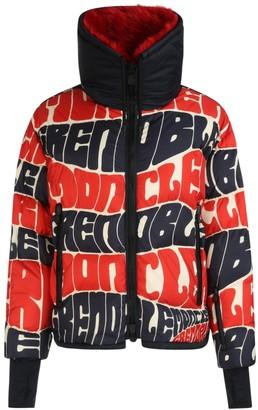 MONCLER GRENOBLE Wave Logo Zipped Jacket