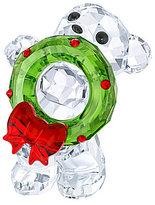 Swarovski Crystal Christmas Kris Bear Figurine, Annual Edition 2017