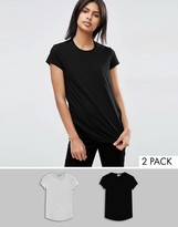 Asos The Ultimate Crew Neck T-Shirt 2 Pack