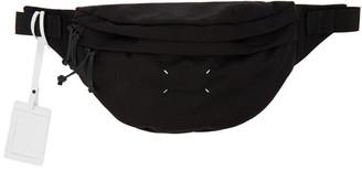 Maison Margiela Black 4-Stitches XL Belt Bag