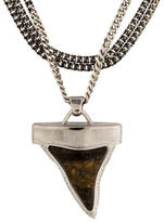Givenchy Agate Shark Tooth Necklace