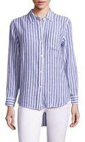 Rails Charli Long Sleeve Striped Shirt