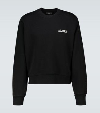 Amiri Cotton crewneck sweatshirt
