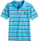 Chaps Boys 4-20 Clark Striped Polo