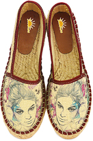 Purple Women Sketch Espadrille