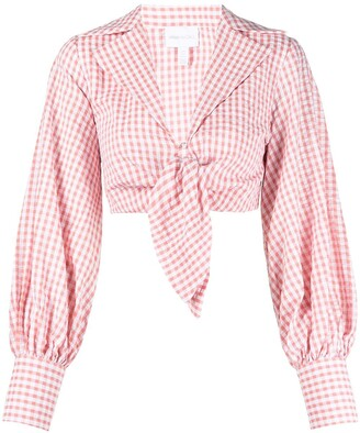 Alice McCall Her Story gingham top