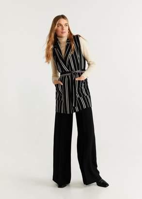 MANGO Striped vest