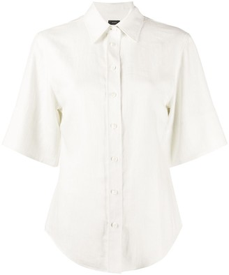 Joseph Star Chintz curved-hem shirt