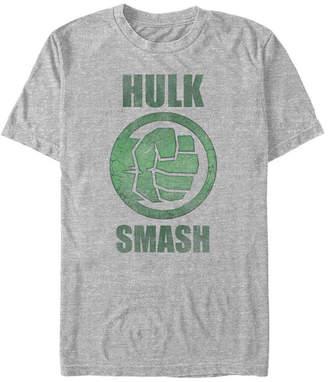 Marvel Men Comic Collection Classic The Hulk Smash Short Sleeve T-Shirt